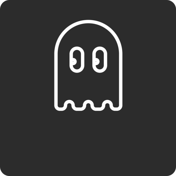 FutureStack FS 2021 PacMan Ghost Dark